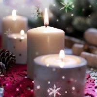 X'mas candles