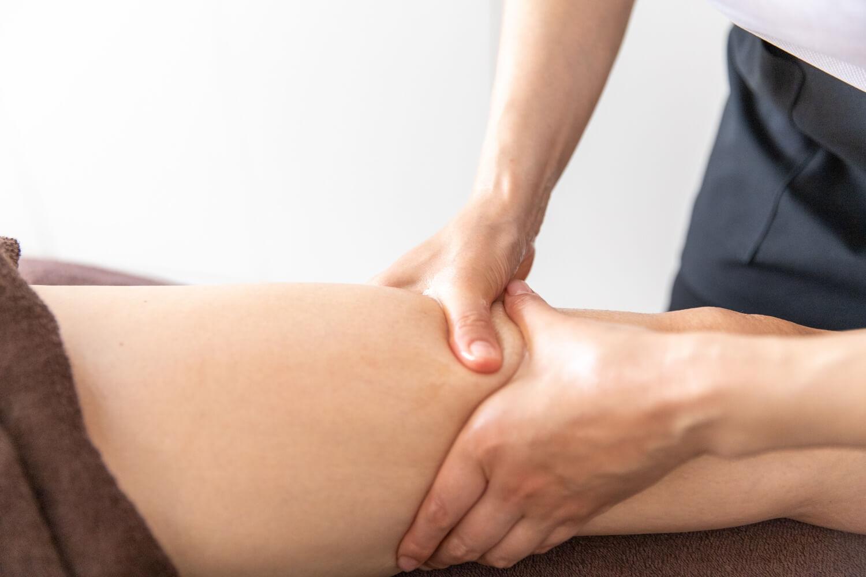 深層リンパ(大腿部)