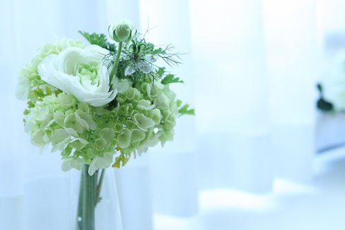 サロンの花