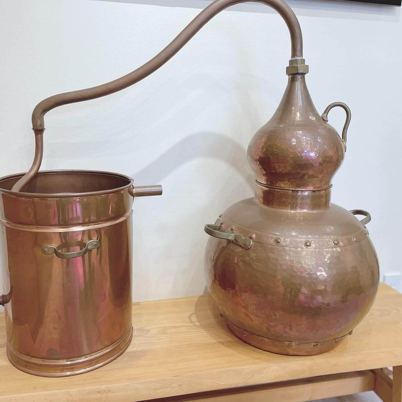 水蒸気蒸留器